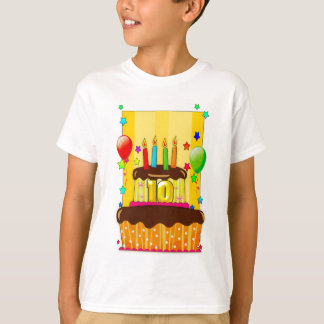 10th birthday t shirt - birthday cake t shirt - 10