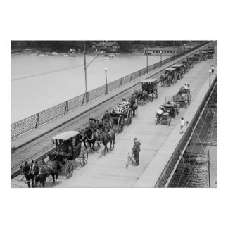 10th Cavalry Funeral: 1917 Poster