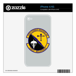 10th Combat Weather Squadron Skin For The iPhone 4