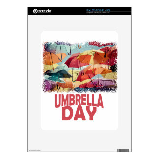 10th February - Umbrella Day - Appreciation Day Skins For The iPad