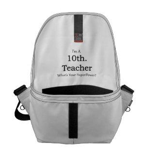 10th. Grade Teacher Messenger Bag