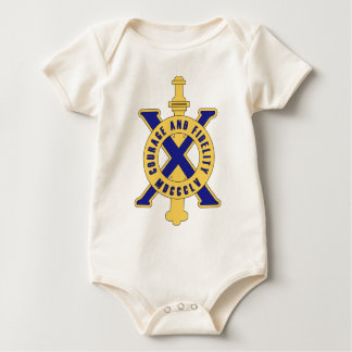 10th Infantry Regiment - Courage and Fidelity MDCC Romper