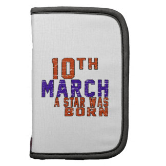 10th March a star was born Planner