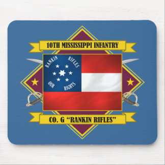 10th Mississippi Infantry -Rankin Rifles Mouse Pad