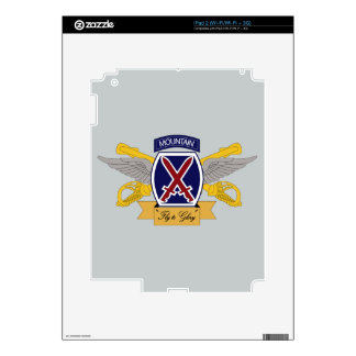 10th Mountain Division Aviation (AVN) iPad 2 Skins