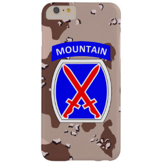 "10th Mountain Division ""Climb to Glory"" Camo Barely There iPhone 6 Plus Case"