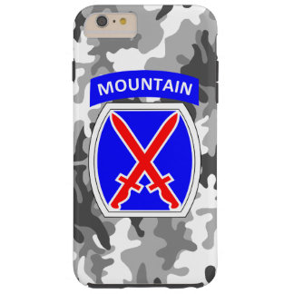 "10th Mountain Division ""Climb to Glory"" Camo Tough iPhone 6 Plus Case"