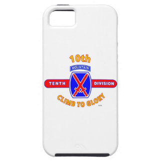 """10TH MOUNTAIN DIVISION """"CLIMB TO GLORY"""" iPhone 5 CASE"""