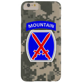 "10th Mountain Division ""Climb to Glory"" Barely There iPhone 6 Plus Case"