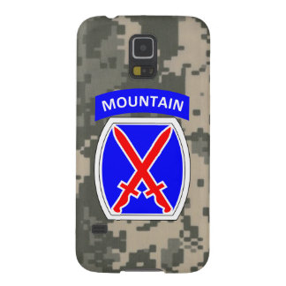 """10th Mountain Division """"Climb to Glory"""" Galaxy S5 Cover"""