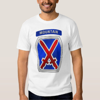 10th Mountain Division(front) T-shirt