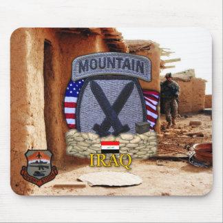10th mountain division gulf war vets Mousepad