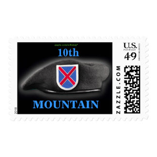 10th mountain division iraq vet Postage stamp