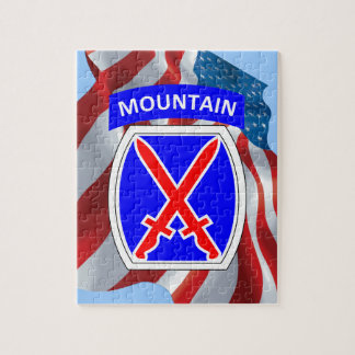 10th Mountain Division Jigsaw Puzzle