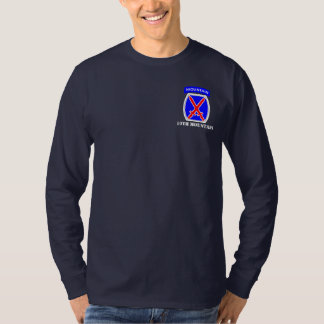 10th Mountain Division Long Sleeve Tee Shirt