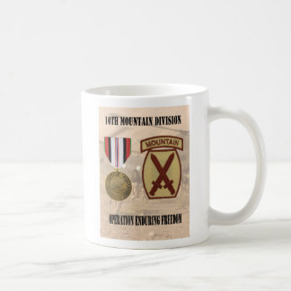 10th Mountain Division Operation Enduring Freedom Coffee Mug