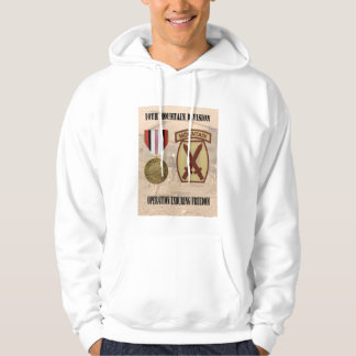 10th Mountain Division Operation Enduring Freedom  Hooded Sweatshirt