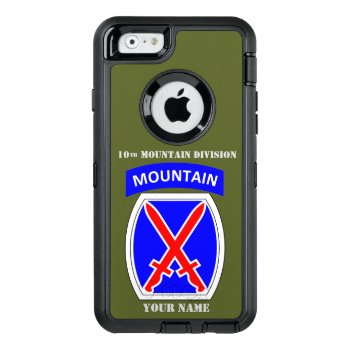 10th Mountain Division Otterbox Defender Iphone Case by ALMOUNT at Zazzle