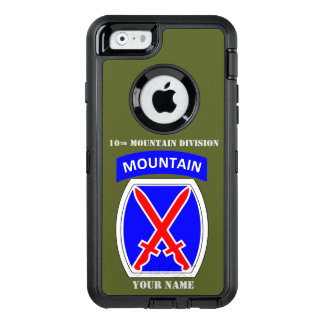 10th MOUNTAIN DIVISION OtterBox iPhone 6/6s Case