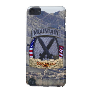 10th mountain division patch ipod Case