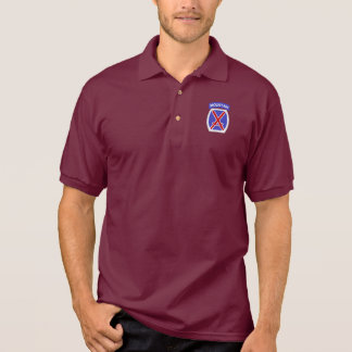 10th Mountain Division Polo Shirt