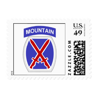 10th Mountain Division Postage