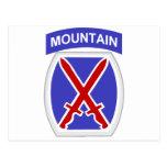 10th Mountain Division Postcard