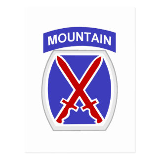 10th Mountain Division Postcard