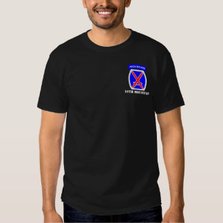 10th Mountain Division T Shirts