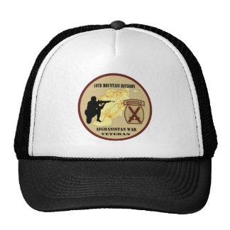 10th Mountain Division Veteran Hat