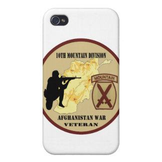 10th Mountain Division Veteran IPhone 4 Case