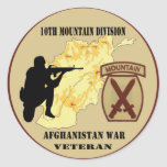 10th Mountain Division Veteran Stickers