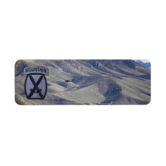 10th mountain division veterans vets fort drum label