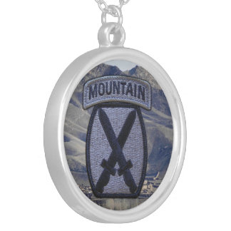 10th Mountain  Division veterans vets Necklace