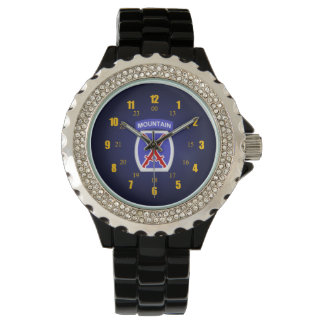 10th Mountain patch Watch