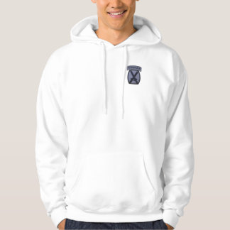 10th MTN MD Div Mountain Division Hoodie