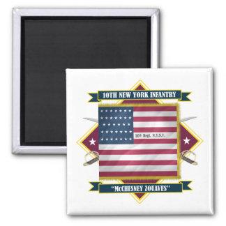 10th New York Infantry Magnet