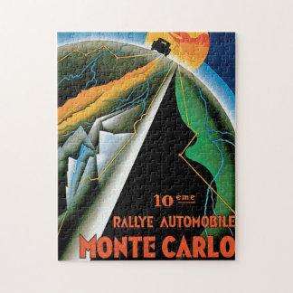 10th Rallye Automobile de Monte Carlo Jigsaw Puzzle
