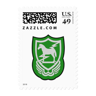 10th SFG-A 1 Postage Stamp