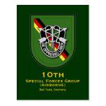 10th SFG-A 7 Germany Postcard