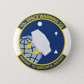 10th Space Warning Squadron Pinback Button