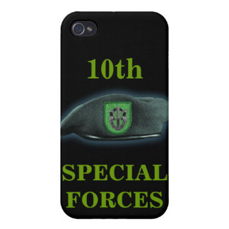 10th special forces green beret iraq i case for iPhone 4