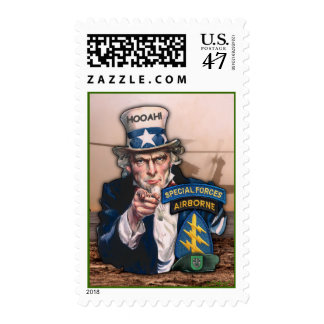 10th special forces green beret postage stamps