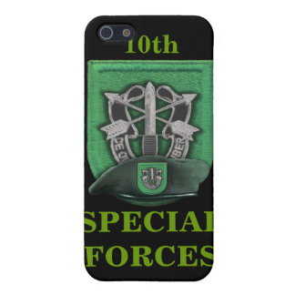 10th Special Forces Green Berets i Case For iPhone SE/5/5s