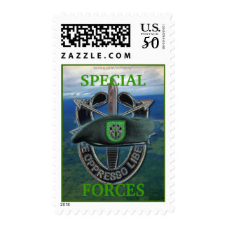 10th special forces green berets veterans sf sfg postage