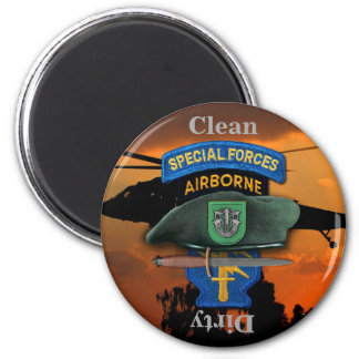 10th Special Forces Group Green Berets SFG SF Vets Magnet