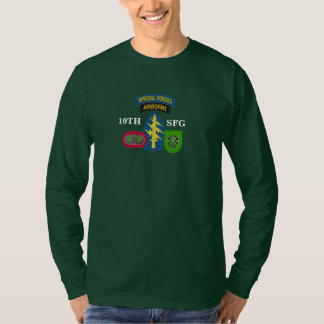 10TH SPECIAL FORCES GROUP LONG SLEEVE T-SHIRT