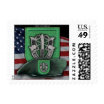 10th Special Forces group veterans flash Postage S