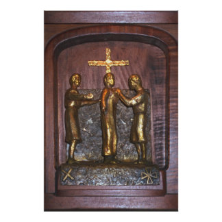 10th Station of the Cross Poster