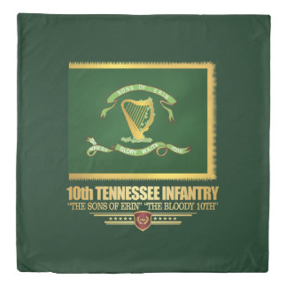 10th Tennessee Infantry Duvet Cover